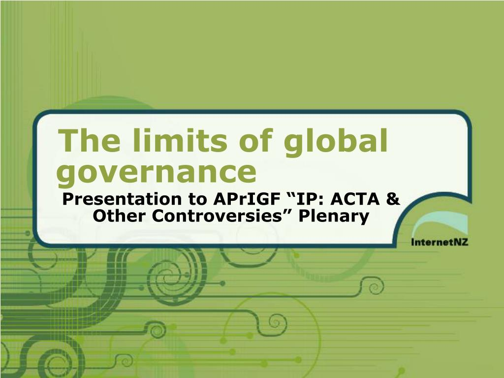 presentation to aprigf ip acta other controversies plenary l.