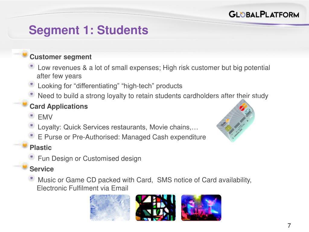 Segment 1: Students