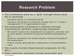 research problem20