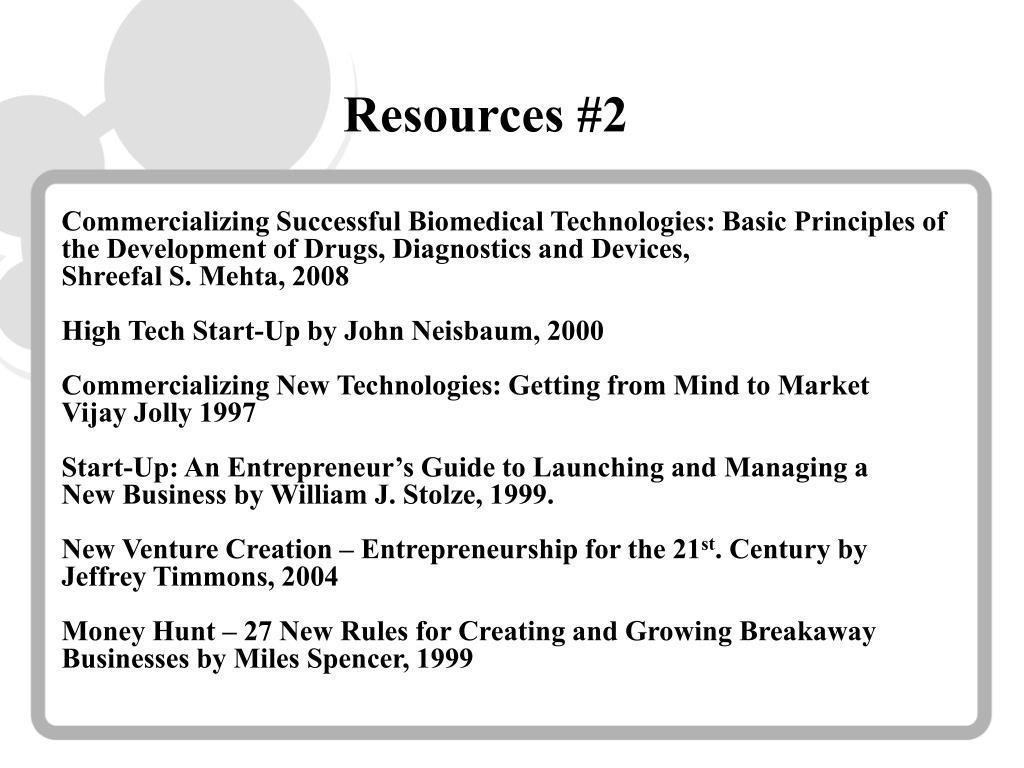 Resources #2