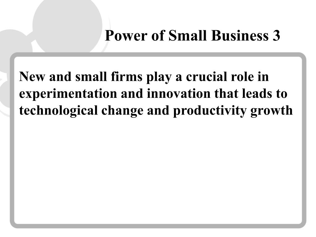 Power of Small Business 3