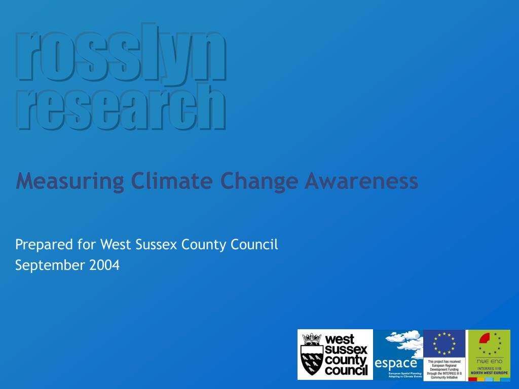 measuring climate change awareness l.