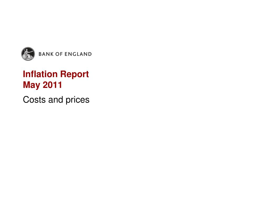 inflation report may 2011 l.
