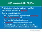 ada as amended by adaaa