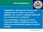 final regulations23