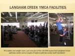 langham creek ymca facilities5