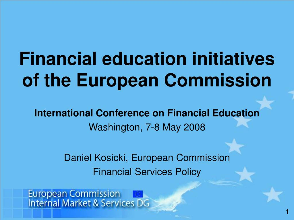 financial education initiatives of the european commission l.