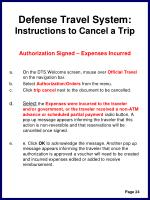 defense travel system instructions to cancel a trip27