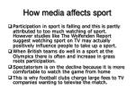 how media affects sport7