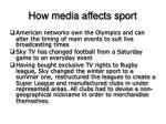 how media affects sport8