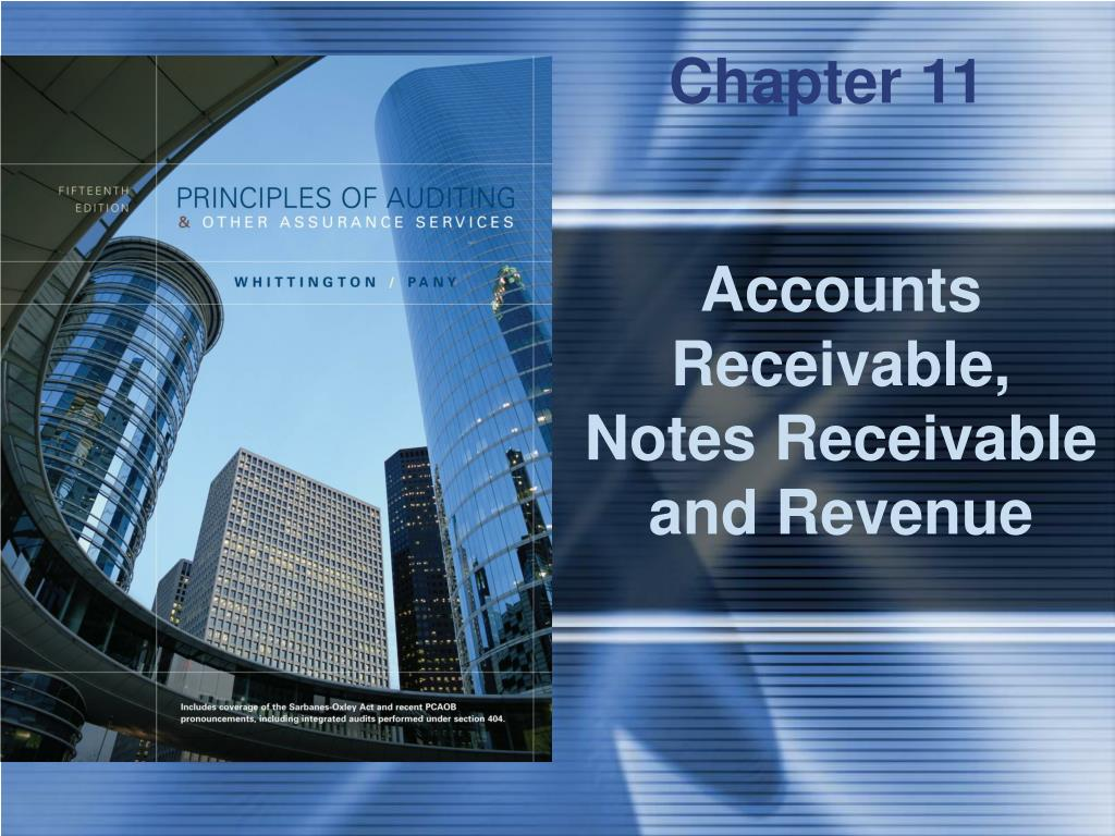 accounts receivable notes receivable and revenue l.
