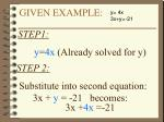 given example6