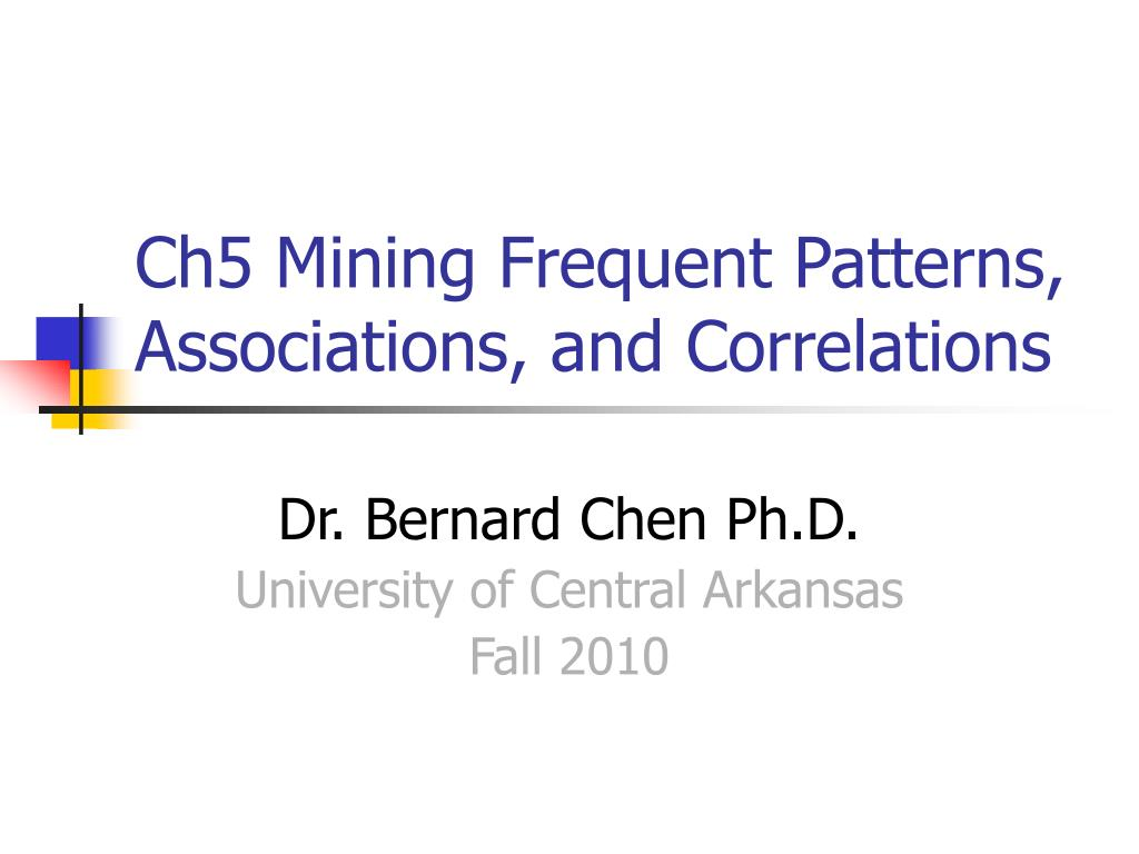 ch5 mining frequent patterns associations and correlations l.