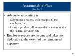 accountable plan slide 2 of 2