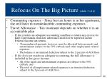 refocus on the big picture slide 3 of 4