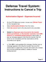 defense travel system instructions to cancel a trip50