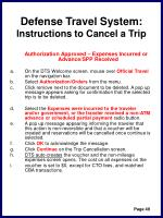 defense travel system instructions to cancel a trip52