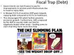 fiscal trap debt