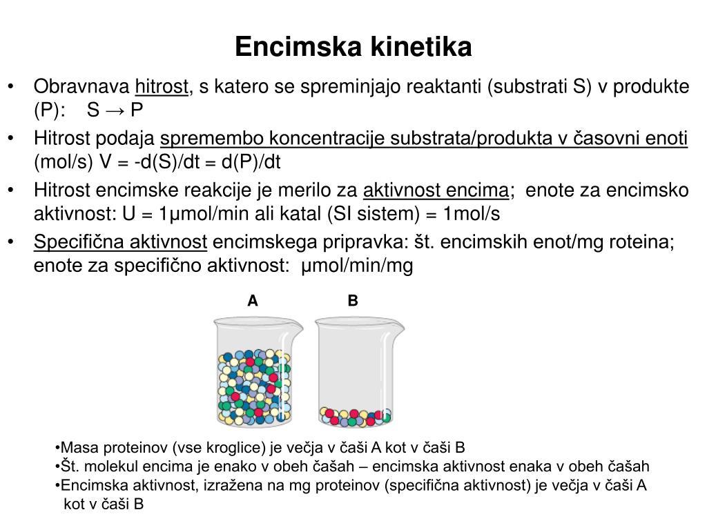 encimska kinetika l.