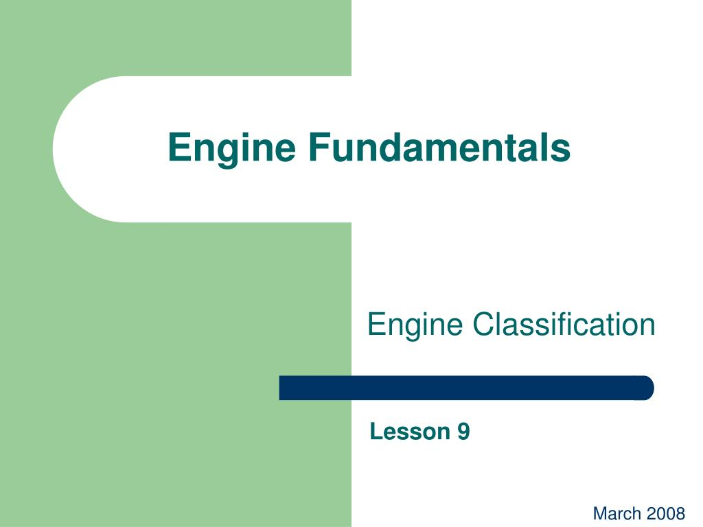 engine fundamentals l.