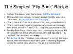 the simplest flip book r cip