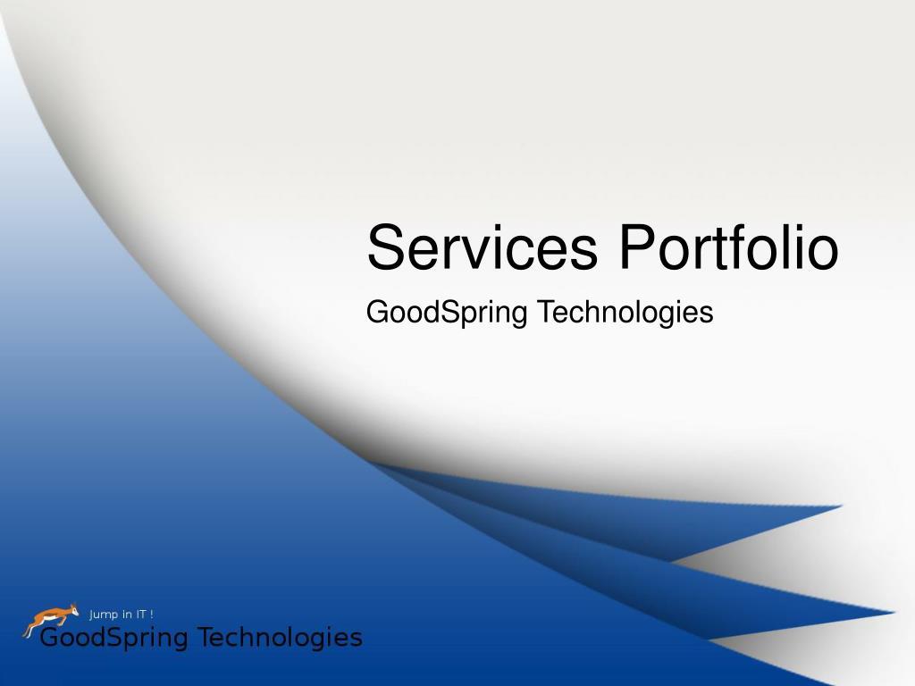 services portfolio l.