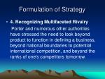 formulation of strategy25