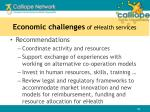 economic challenges of ehealth services