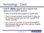 terminology client