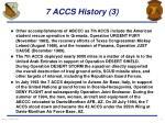 7 accs history 3