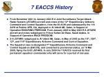 7 eaccs history