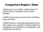 comparison region v state