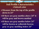 soil profile characteristics10