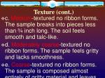 texture cont