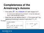 completeness of the armstrong s axioms35