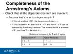 completeness of the armstrong s axioms41