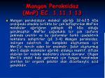 mangan peroksidaz mnp ec 1 11 1 1339