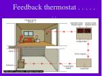 feedback thermostat