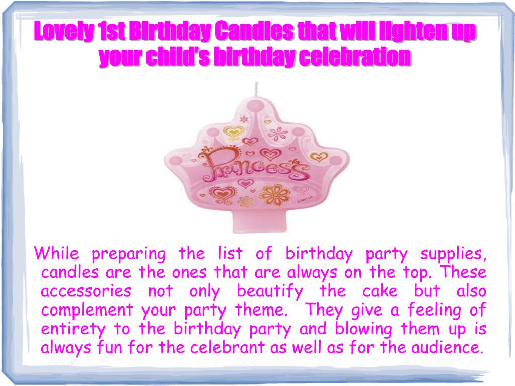 lovely 1st birthday candles that will lighten up your child s birthday celebration l.