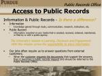access to public records10
