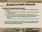 access to public records8
