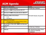 agm agenda21