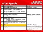 agm agenda32