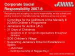 corporate social responsibility 2007 8