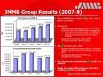 jmmb group results 2007 8
