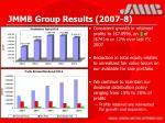 jmmb group results 2007 85