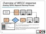 overview of wecc response existing teppc regional planning process
