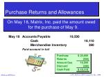 purchase returns and allowances26