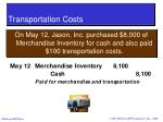 transportation costs28