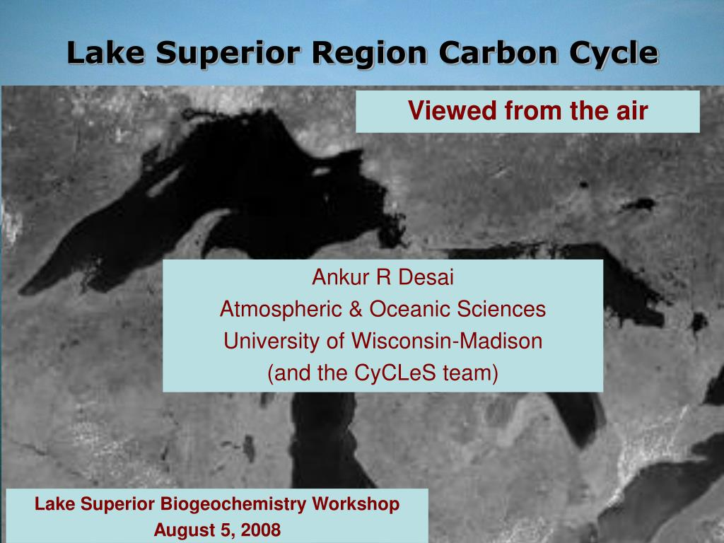 lake superior region carbon cycle l.